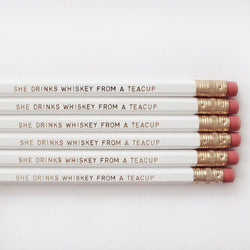 WHISKEY PENCIL SET - Miss Poppy Design