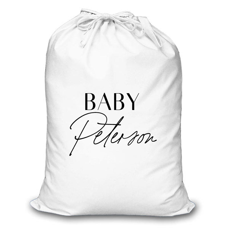 Title Personalised Christmas Sack