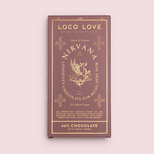 Loco Love - Nirvana Dark Chocolate Block