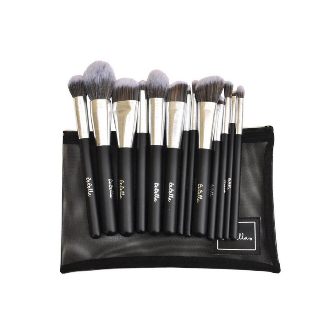 ALL YOU NEED 13 PCS SILVER BRUSH SET