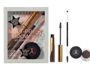 MELT -PROOF BROW KIT /. DARK BROWN