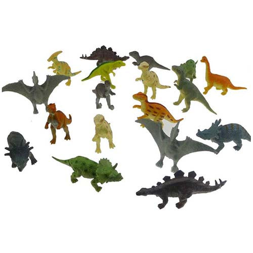 Dinosaur Toy Animal Tube Set