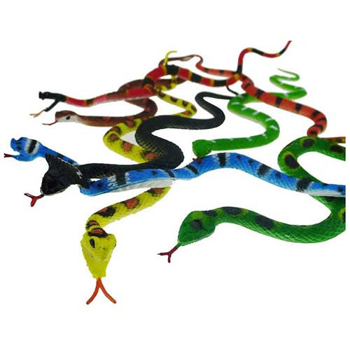 Snake Toy Animal Tube Set
