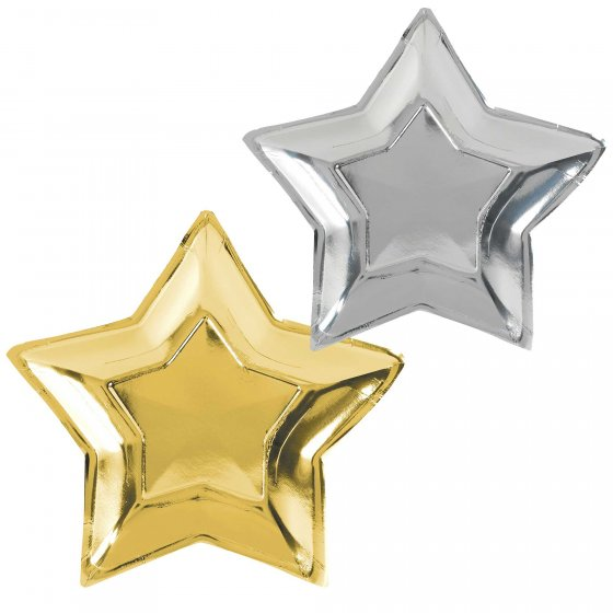 Star Shaped Party Plates