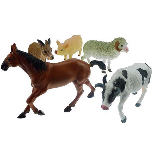 Large Farm Toy Animal Set