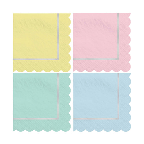 Pretty Pastel Party Napkins