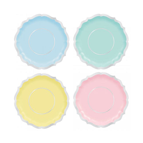 Pretty Pastels Party Plates