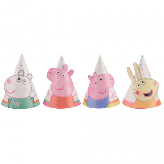 Peppa Pig Confetti Party Hats