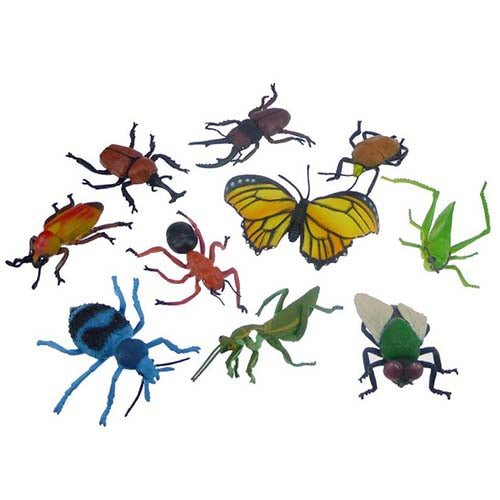 Large Insect Toy Animal Set