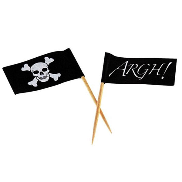Pirate Party Flag Picks