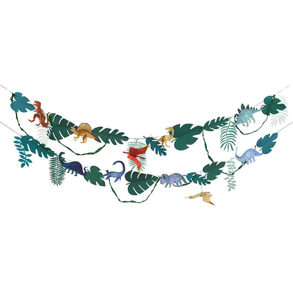 Dinosaur Kingdom Large Garland Meri Meri