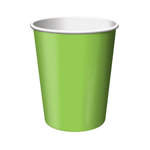 Lime Green Plain Paper Cup