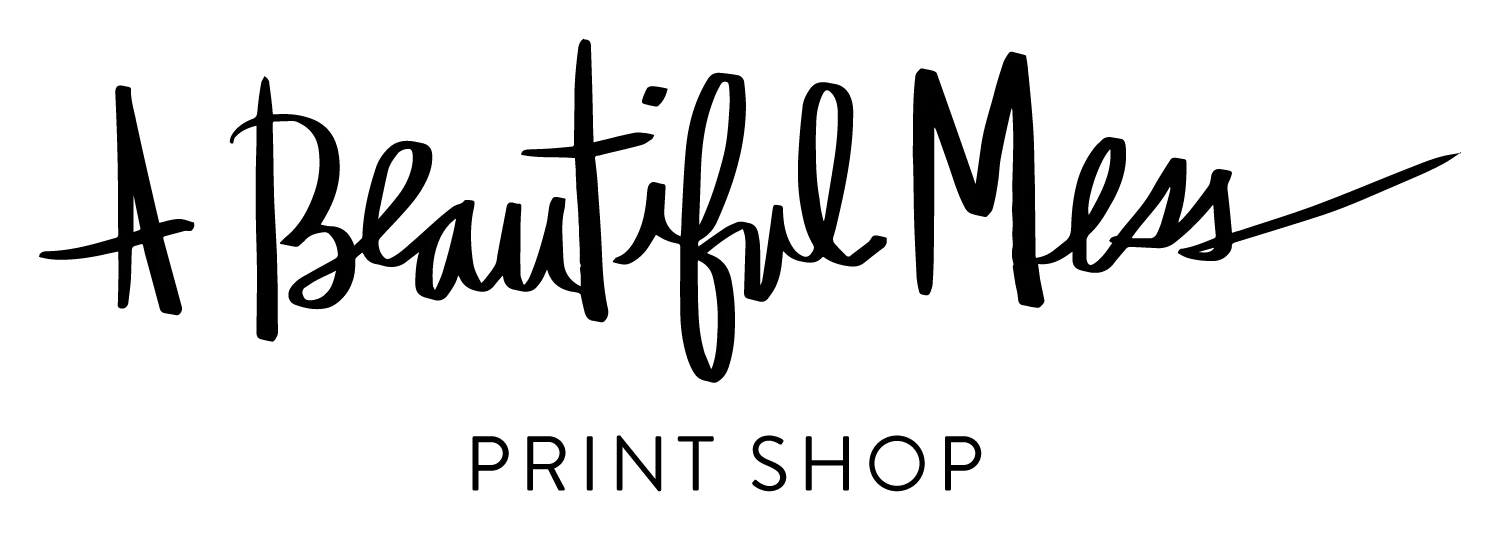 A Beautiful Mess Print Shop