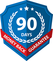 90 Day Money Back Guarantee icon