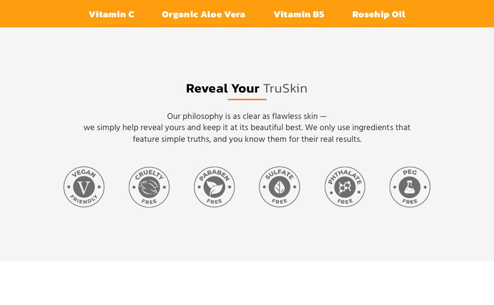 Reveal your TruSkin with Vitamin C Night Cream
