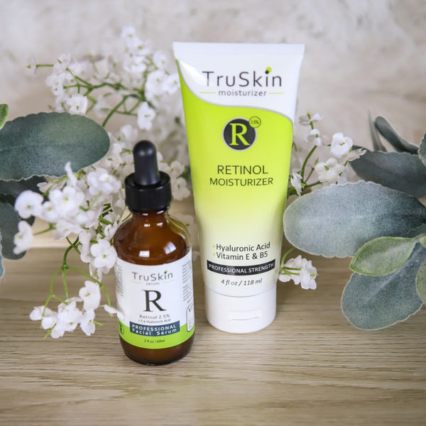 TruSkin Retinol Serum and Moisturizer