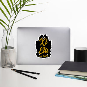 Xi Eta bubble-free vinyl stickers
