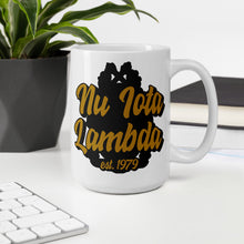Load image into Gallery viewer, Nu Iota Lambda Ambidextrous Mug