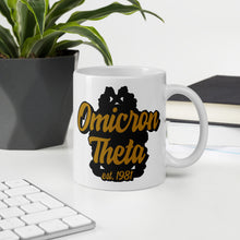 Load image into Gallery viewer, Omicron Theta Ambidextrous Mug