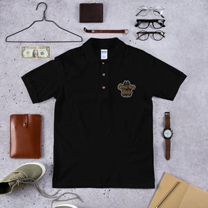 Omicron Theta Embroidered Polo Shirt