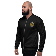Load image into Gallery viewer, Epsilon Zeta Iced Out Bomber Jacket