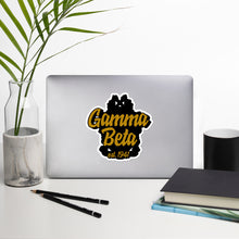 Load image into Gallery viewer, Gamma Beta bubble-free vinyl stickers