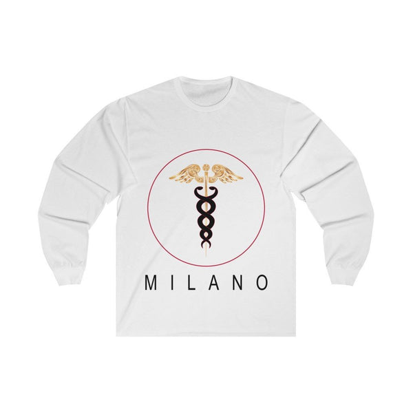 Milano graphic tee, long sleeve tee, Milano shirt , streetwear ,