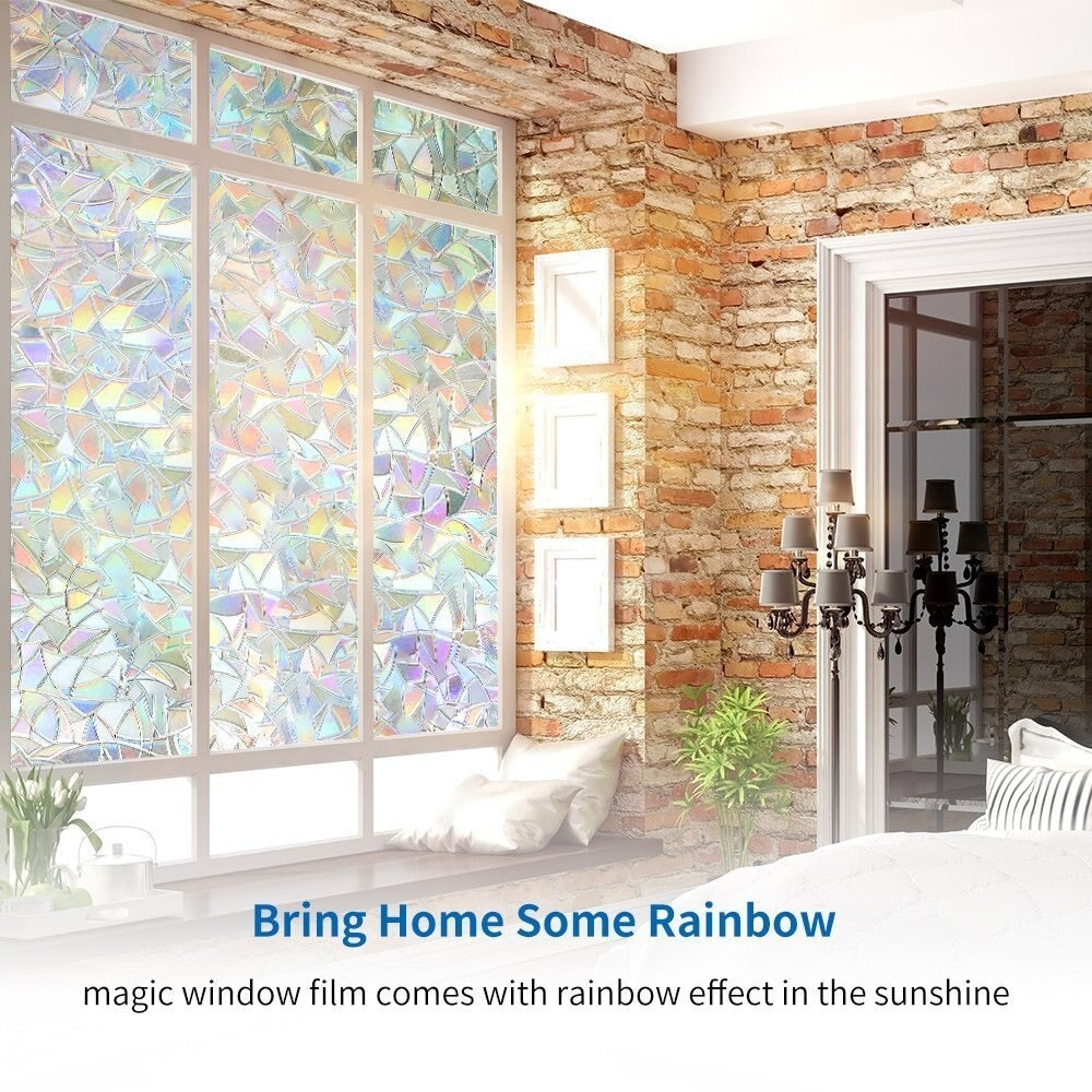 Rainbow Effect Color Window Film