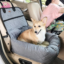 Load image into Gallery viewer, Plush Waterproof Car Pet Bed/Carrier.