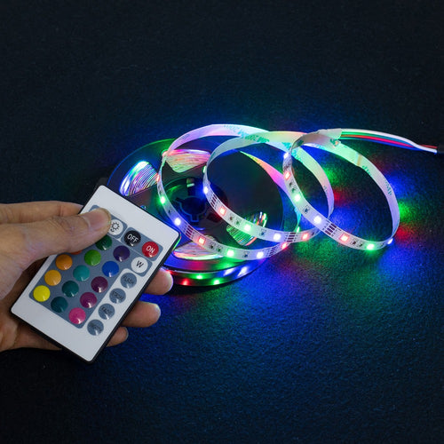 Light up your life! LED USB Strip Light - Kitty Cactus