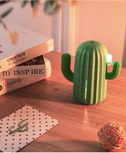 Load image into Gallery viewer, Soft Silicone Cactus shaped air humidifier - Kitty Cactus