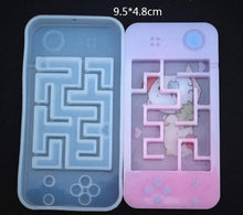 Load image into Gallery viewer, Make Your Own Maze! Maze Shaker Silicone Molds - Kitty Cactus