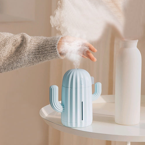 Soft Silicone Cactus shaped air humidifier - Kitty Cactus