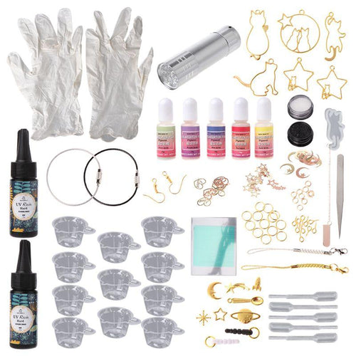 All You Need To Start Creating With Resin! UV resin Starter kit. - Kitty Cactus