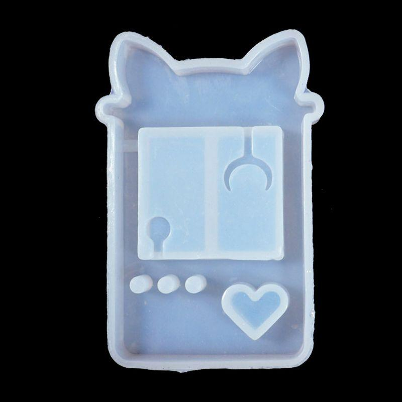Cat Paw Game Console Shaker Mold - Kitty Cactus