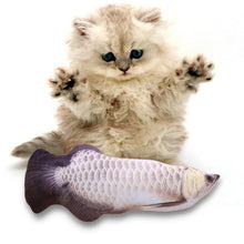 Load image into Gallery viewer, Electric USB Charging Simulation Fish Toys for Cat - Kitty Cactus