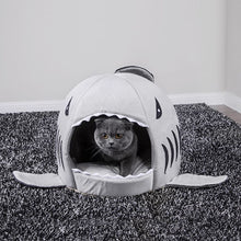 Load image into Gallery viewer, Shark Attack! Soft Pet Bed