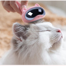 Cargar imagen en el visor de la galería, Brush It Out! Stainless Steel Cute Cat Brush