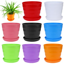 Load image into Gallery viewer, Small Size Colourful Mini Plastic Flower Pot