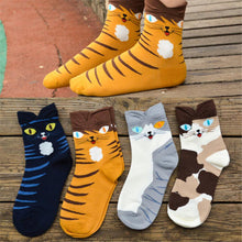 Load image into Gallery viewer, Kitten Socks- Unusual colours! - Kitty Cactus