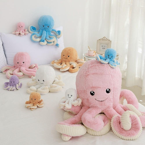 Cute Octopus Plush Toy - Kitty Cactus