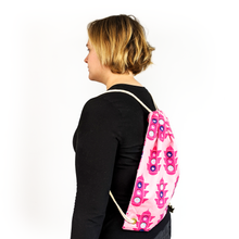 Load image into Gallery viewer, stop at the pink light backpack