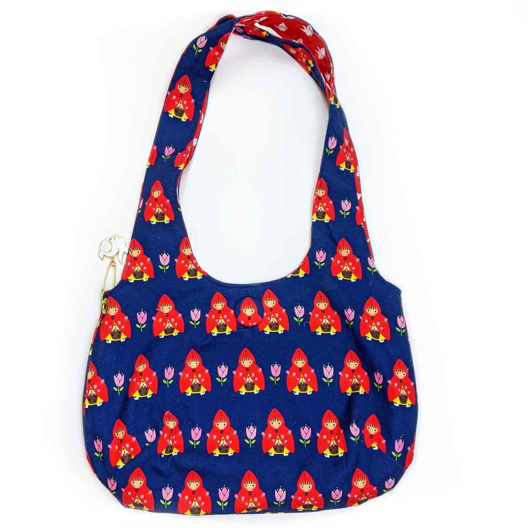 a little red in the tulip purse
