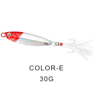 Jackfish jigging spoon. - Gearedupfishing