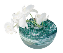 Load image into Gallery viewer, Ocean Frosted Bud Vase