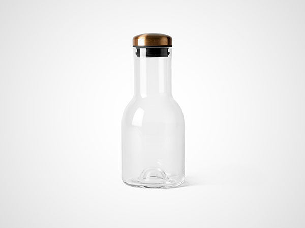 Water Bottle with Copper lid 0,5 L