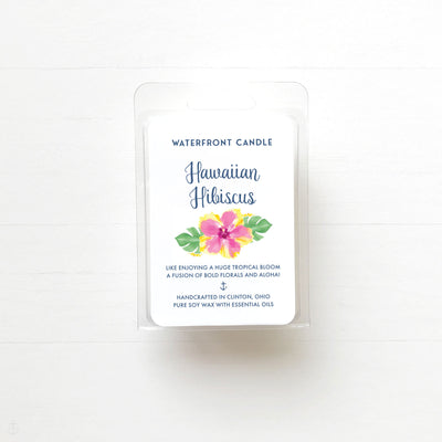 Hawaiian Hibiscus Soy Wax Tart Melts