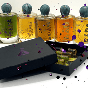 Discover åll sample set. Our 5 ethically sourced and hand-made fine fragrances to try with a 50ml voucher.