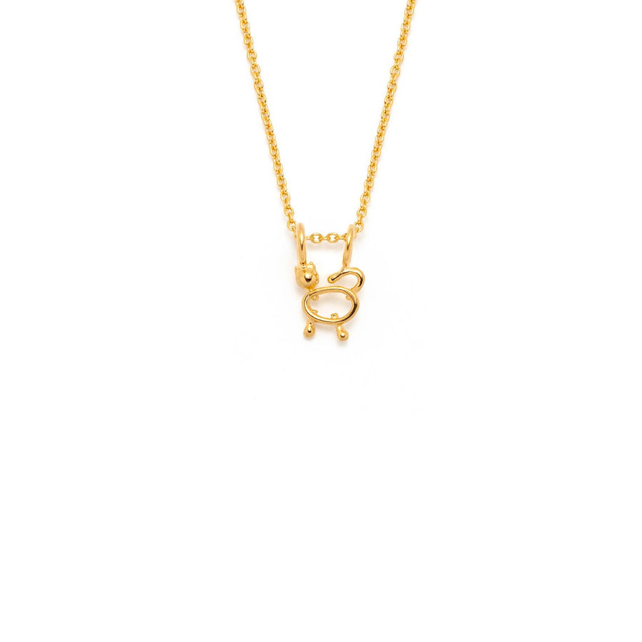 collier minimaliste chat - Lidia