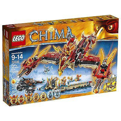 Lego Legends of Chima 70146 Flying Phoenix Fire Temple - Your Daily Deal